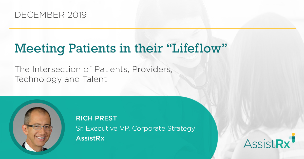 intersection of patient, providers, technology and talent